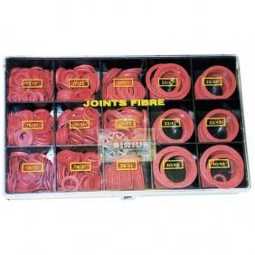 Coffret de 560 joints fibre pour tête de robinet SIRIUS