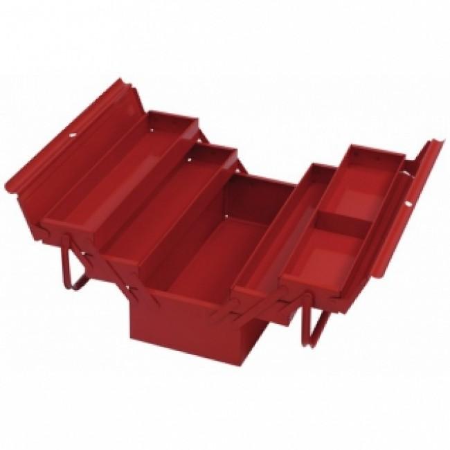 Boîte à outils - 5 compartiments - cadenassable Sori