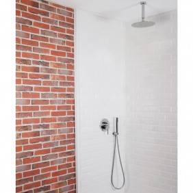 Colonne de douche encastrable plafond LOTO avec mitigeur MOHANO SARODIS