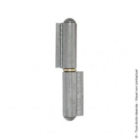 Paumelle de grille - nœuds ronds - à souder - à lame courte CLEMENSON