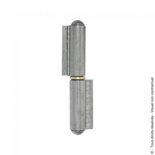Paumelle de grille à souder - nœuds ronds - à lame courte CLEMENSON