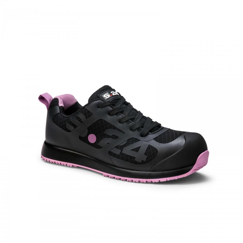 Chaussure de sécurité basse femme - Wallaby S1P S24 QIN&X Chaussures Femmes Talons Talon Bloc Long. Chaussures En7A6r