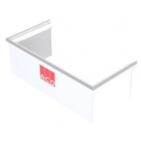 Eléments de rehausse - fixe - pour Cours anglaise 100x40cm ACO PASSAVANT