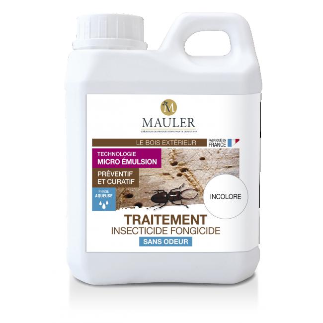 Traitement insecticide fongicide – xylophage – sans odeur Mauler