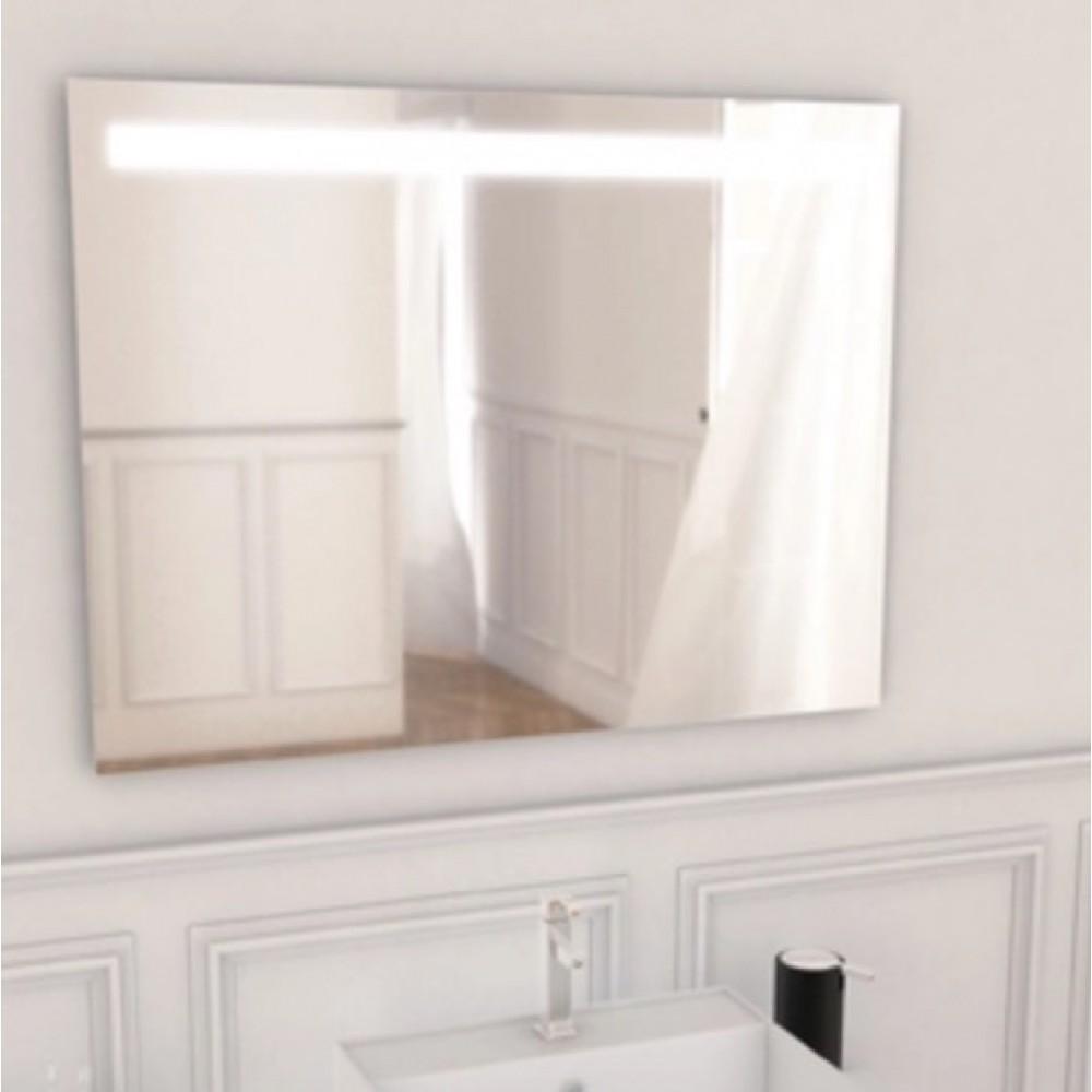 Miroir Eclairant Salle De Bain miroir de salle de bain - éclairant - avec système anti-buée -sunset salgar  sur bricozor