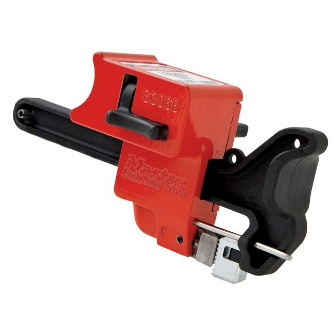 Dispositif de consignation sur poignée de vanne à bille MASTER LOCK