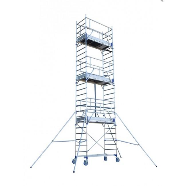 Échafaudage roulant en aluminium - Totem 2 Line 180 TUBESCA