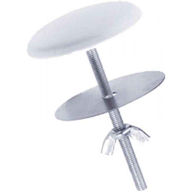 Cache trou laiton epoxy blanc Ø 50 mm PELLET ASC