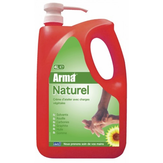 Savon microbilles Arma naturel - 4 litres ARMA