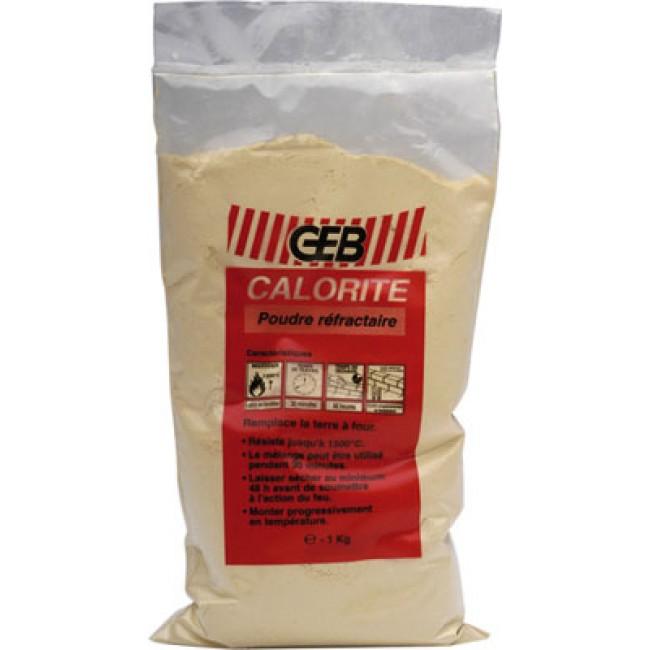 Poudre ciment réfractaire (sac 1kg) -  Calorite GEB
