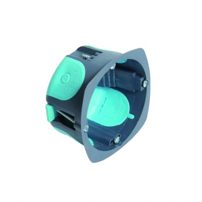 Boite multimatériaux pour appareillage cloison sèche - 67mm - Stopair DEBFLEX