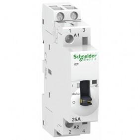 Contacteur de puissance avec commande manuelle bipolaire 230V - Acti9 iCT SCHNEIDER