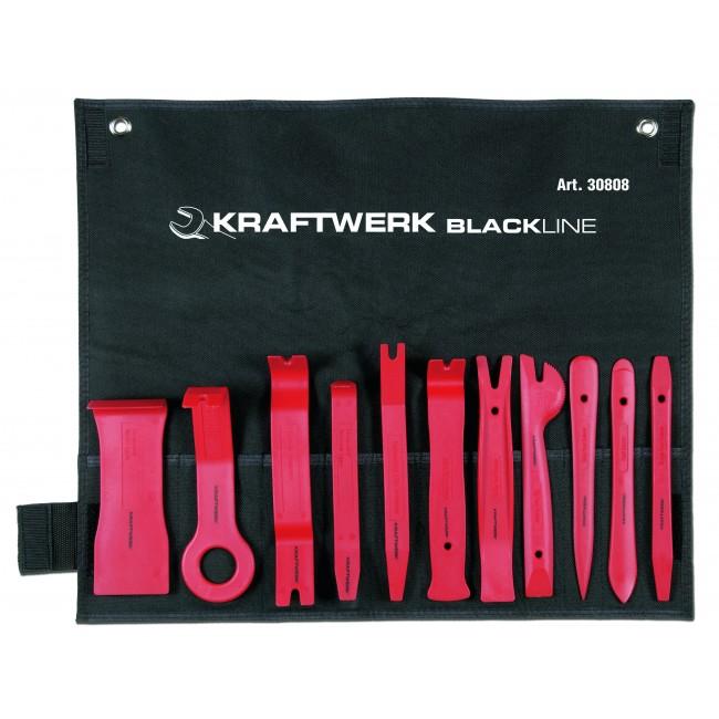 Outils pour le démontage des garnitures de portières - 11 pièces KRAFTWERK