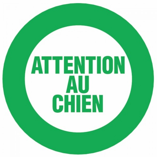Disques rigides - Attention au chien NOVAP