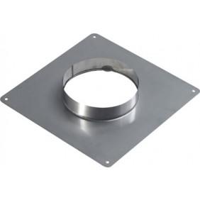 Plaque d'étanchéité inox - dimensions 350 x 350 mm TEN