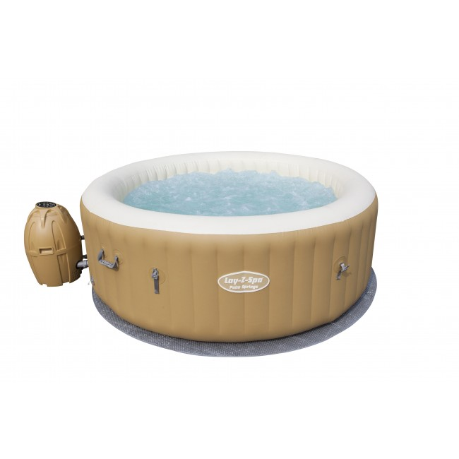 Spa gonflable rond 4/6 places - Lay-Z-Spa - Palm Spring Air Jet + accessoires BESTWAY