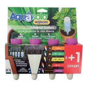 Cône Aquasolo pack 3+1 VIOLET - Spécial Jardinière AQUASOLO BY HOZELOCK