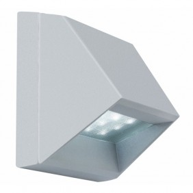 Applique murale en saillie - Wall LED Titan - aluminium PAULMANN