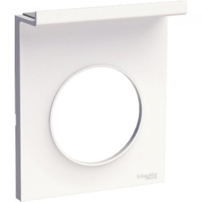 Plaque blanche - 1 poste - Styl Pratic - Odace SCHNEIDER