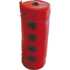 Bouteille de mélange pour chauffage - pose murale - skaï rouge THERMADOR