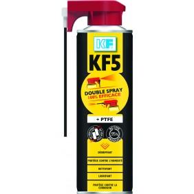 Dégrippant lubrifiant multifonctions au PTFE - KF 5 double spray KF