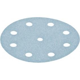 Disques abrasif StickFix - diamètre 125 mm 9 trous - plastique peinture FESTOOL