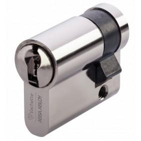 Demi cylindre - 30 x 10mm - VIP+ - varié - laiton nickelé VACHETTE