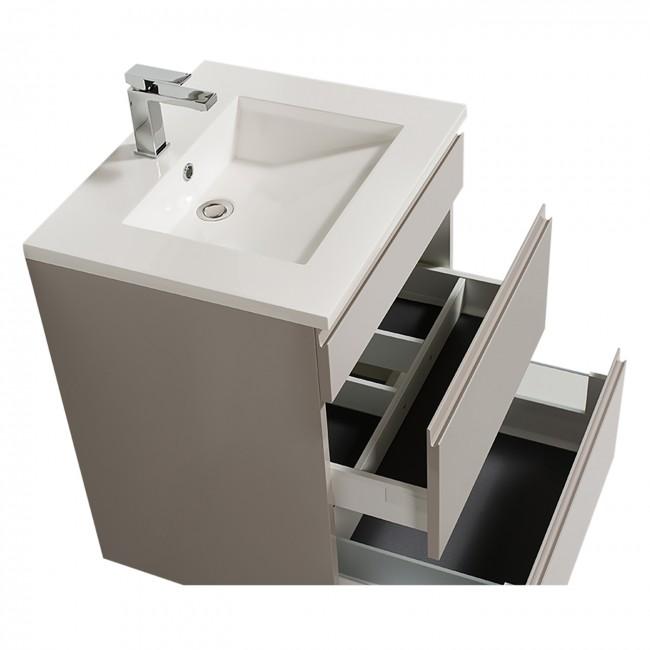 Meuble de salle de bains reposant - Adele - 60 cm - 2 finitions BATHDESIGN