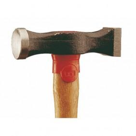 Marteau postillon tête ronde et tête carrée 213, manche hickory MOB