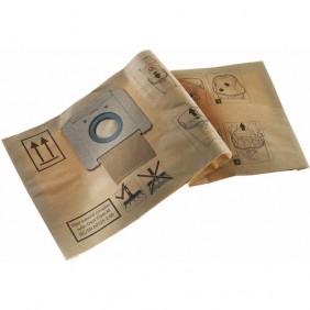 Lot de 5 sacs papier FIS-CT 17/5 pour aspirateur CT 17 E - 769136 FESTOOL