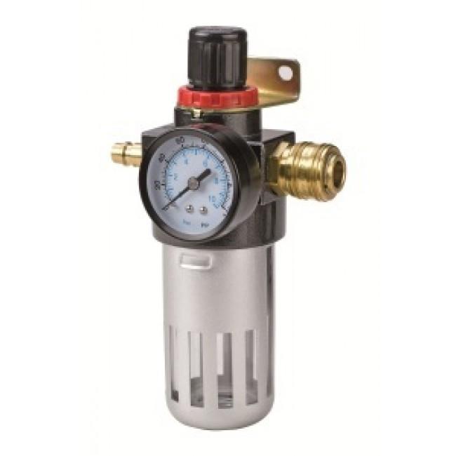 """Filtre régulateur de pression - filetage mâle R 3/8"""" - pour compresseur EINHELL"""