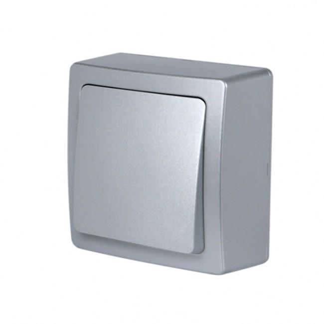 Va-et-vient aluminium mat en saillie - Blok DEBFLEX