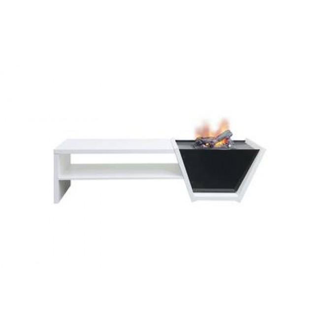 Meuble télé / foyer décoratif Vision + Cassette 400 GLEN DIMPLEX