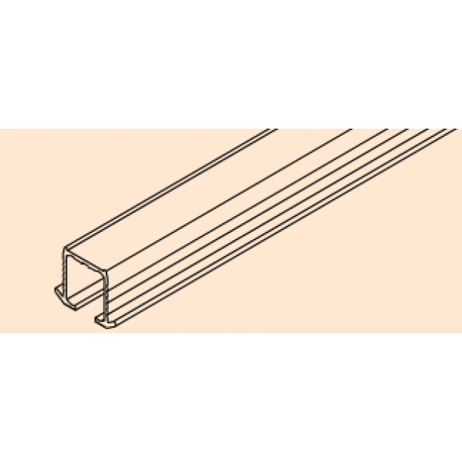 Rail de roulement pour porte coulissante Clipo 16 H EKU
