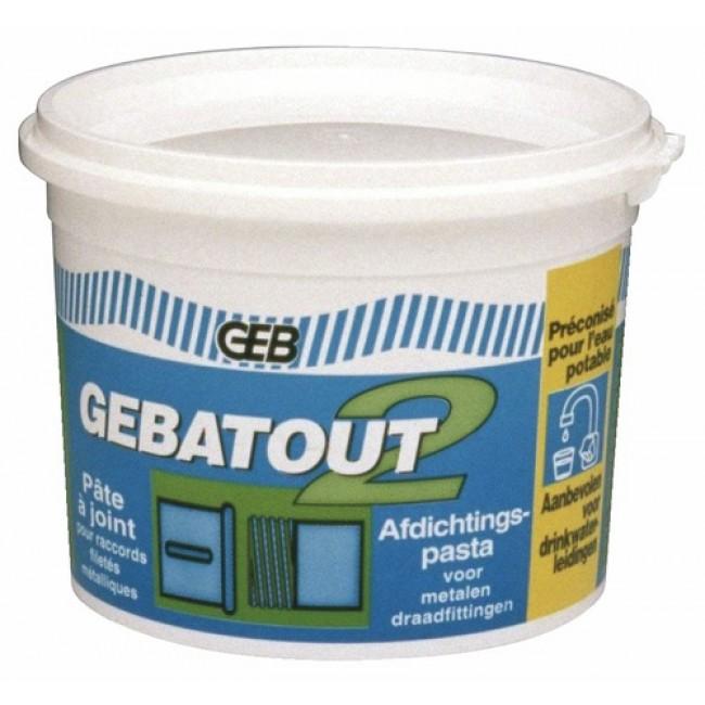 Pâte à joint - étanchéité sanitaire - Gebatout 2 GEB