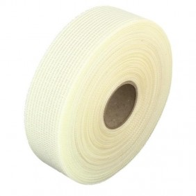 Bande à joint pour plaque de plâtre - fibre de verre adhésive - 153 m BRICOZOR