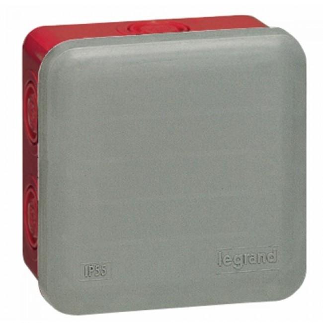 Boite de dérivation de sécurité - carrée - Plexo LEGRAND