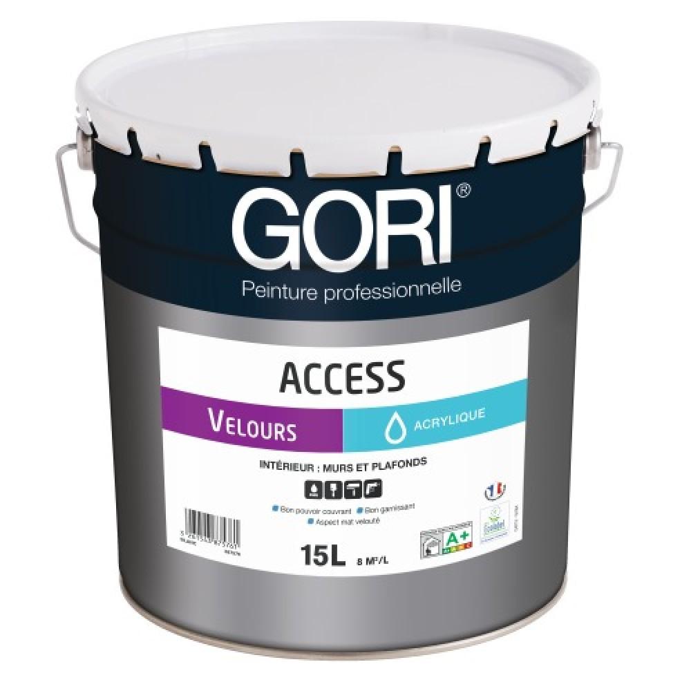Peinture Acrylique Murs Et Plafonds 15 L Goriacess Velours Gori Sur Bricozor