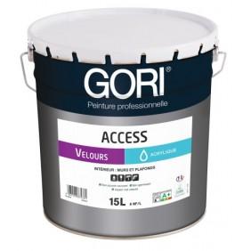 Peinture acrylique - murs et plafonds - 15 L - Goriacess Velours Gori