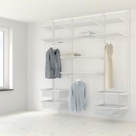 Kit dressing Classique - L210xP40 cm - blanc ELFA