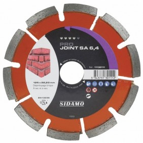 Disque diamant - spécial joint de briques - 125 mm - Pro Joint SA SIDAMO