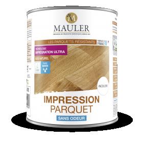 Impression parquet - sous-couche - incolore Mauler