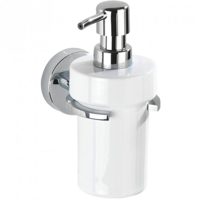 Distributeur de savon - support mural - Capri - Fixation Vacuum-Loc WENKO