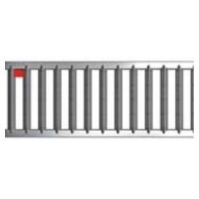 Caniveaux avec grilles passerelles - sans pentes - Hexaline 100 ACO