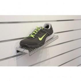 Tablettes chaussures pour panneaux rainurés BRICOZOR