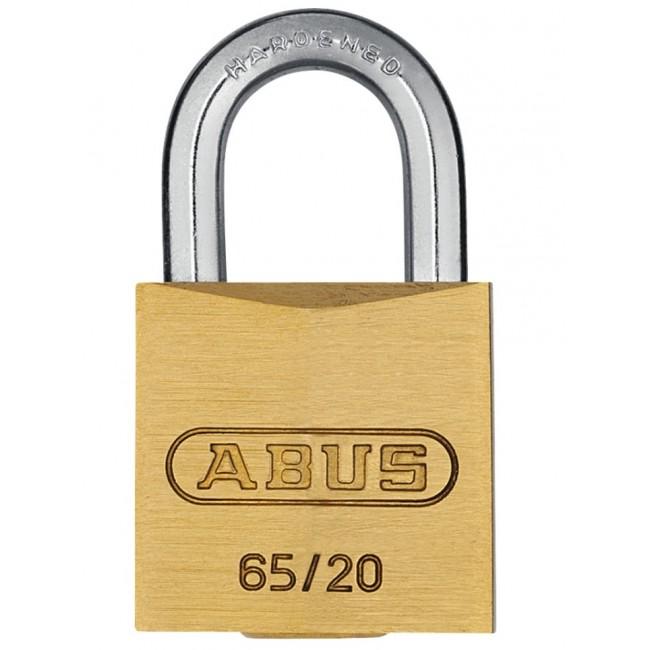 Cadenas laiton à clé sur variure KA 6402 - 65/40 ABUS
