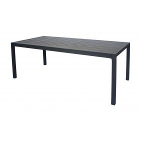 Table de jardin aluminium - 190 x 100 cm - Sarana 200 INDOOR OUTDOOR