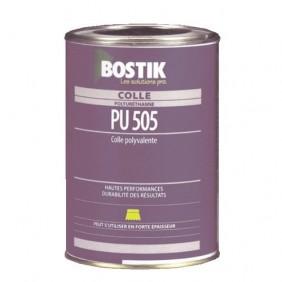 Colle à bois polyuréthane PU 505 - 1 kg BOSTIK