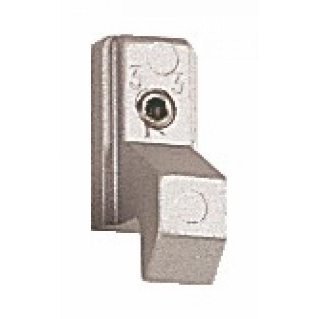 Gâche 2233 pour fermetures encastrées série 6790 pour coulissant aluminium LA CROISÉE DS