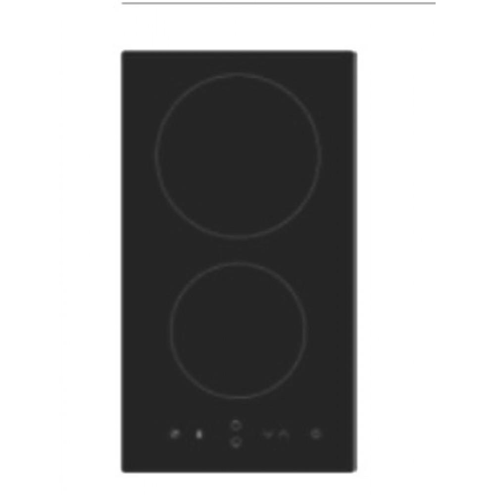 Table Induction Ou Vitrocéramique domino à induction - 2 feux - avec minuteur franke sur bricozor